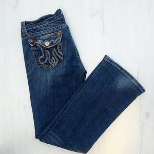 🌵Buckle bootcut jeans